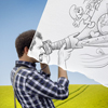 T7_pencil vs camera - 30 (ben heine)